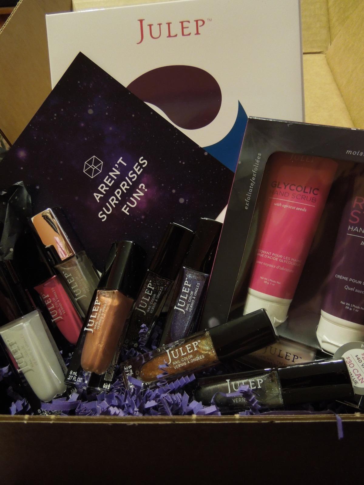 Julep Galaxy Mystery Box – September2013