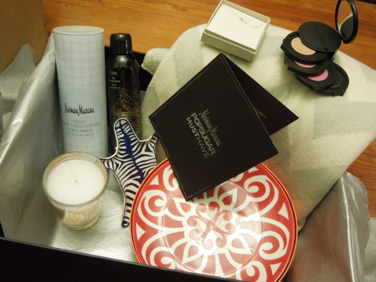 Neiman Marcus Popsugar Must Have Box – November 2013