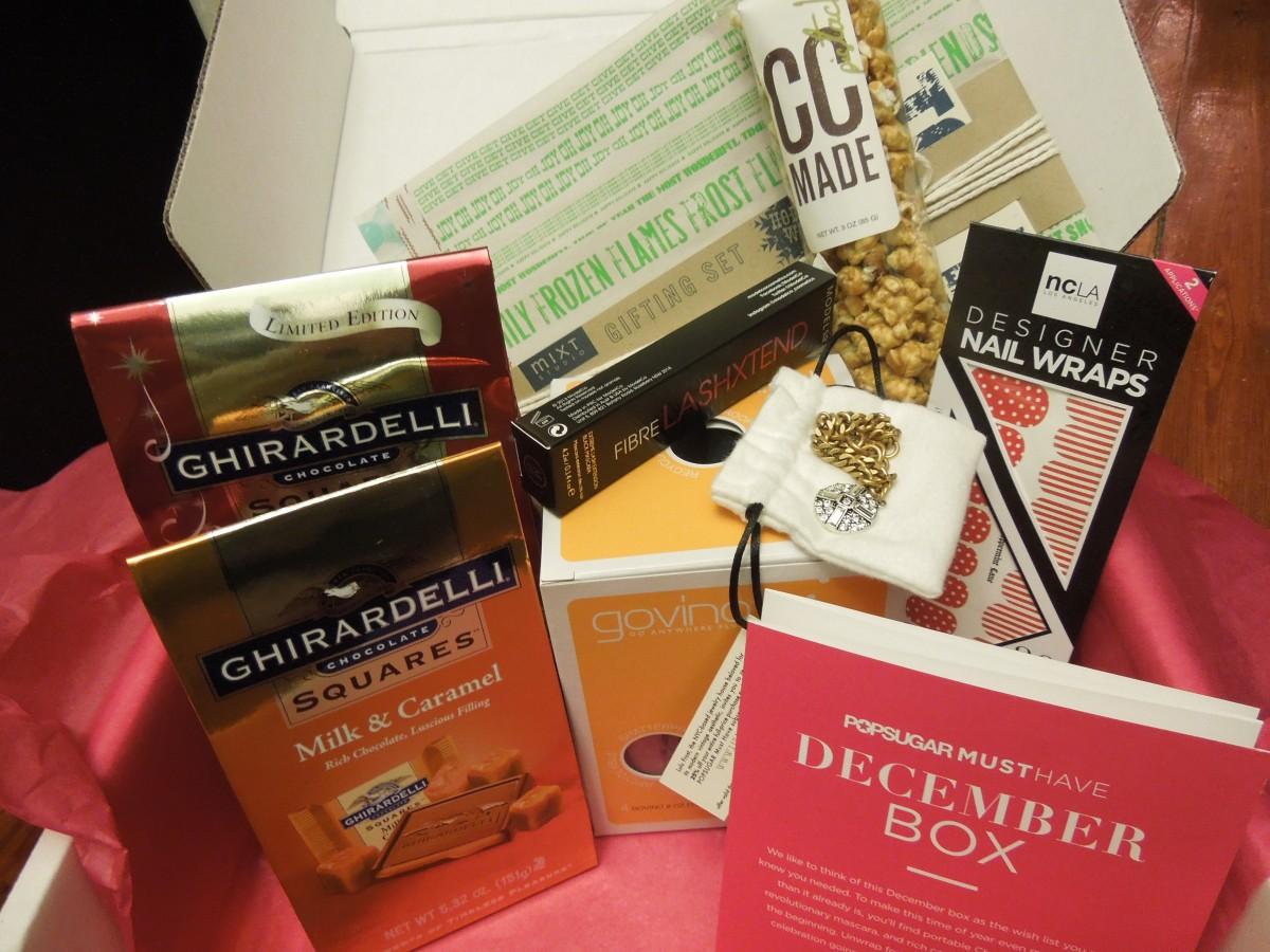 Popsugar Must Have Box – December2013