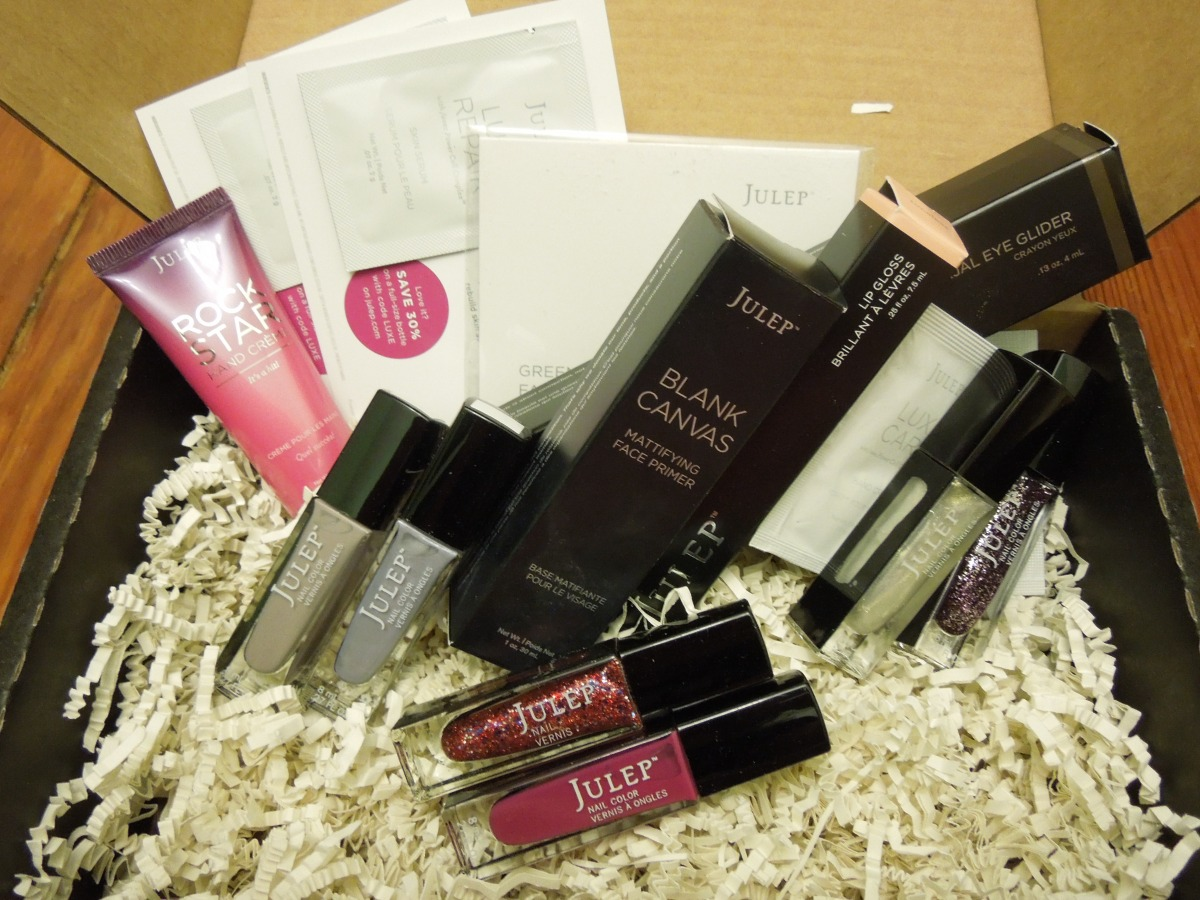 Julep Mystery Box: Naughty & Nice – December2013
