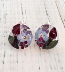 Flower Post Earrings