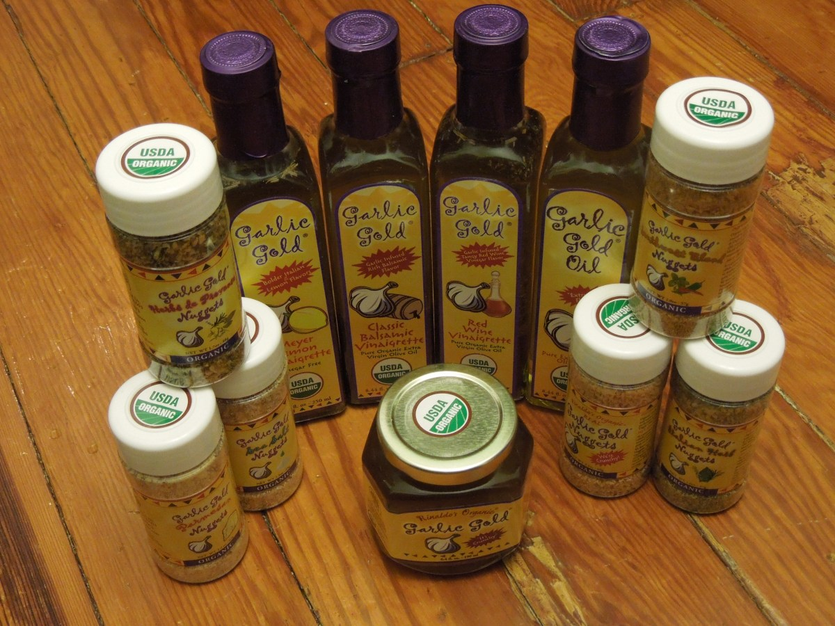 April Product Review: Garlic Gold!