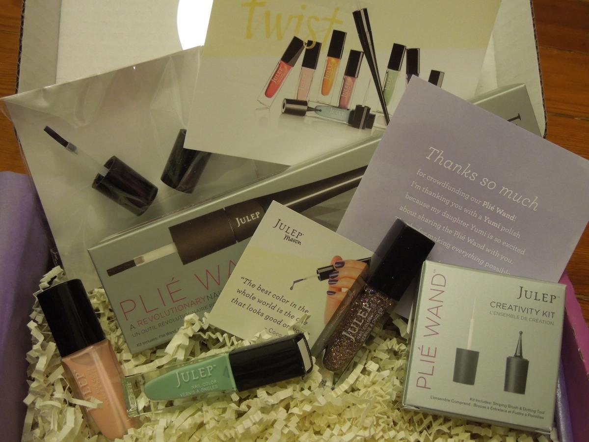 "Julep Maven:   ""French Twist Collection"" May 2014 –  It GirlBox"