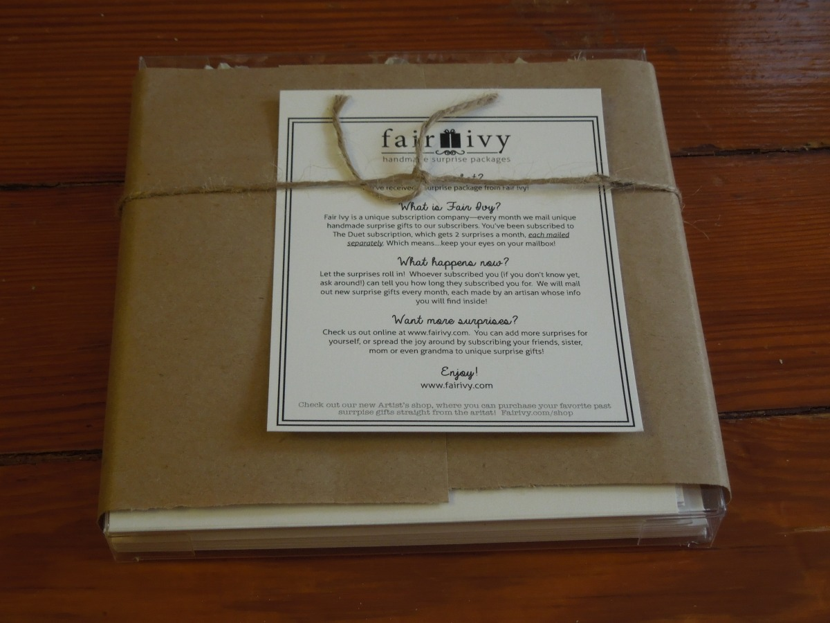 Fair Ivy Mystery Box: April 2014