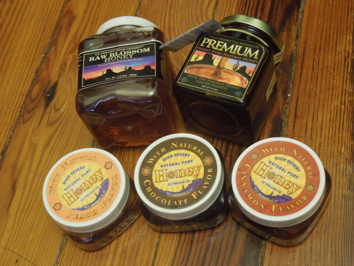 June 2014 Product Review:  CC Pollen's Organic Honey