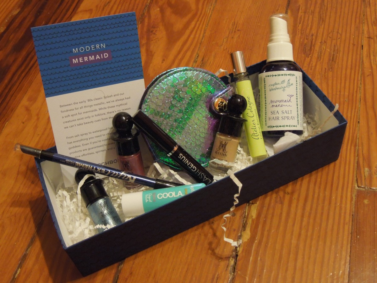 Birchbox Limited Edition Modern Mermaid Box: Summer 2014