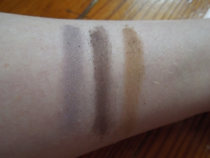 Matte Shadow Swatches