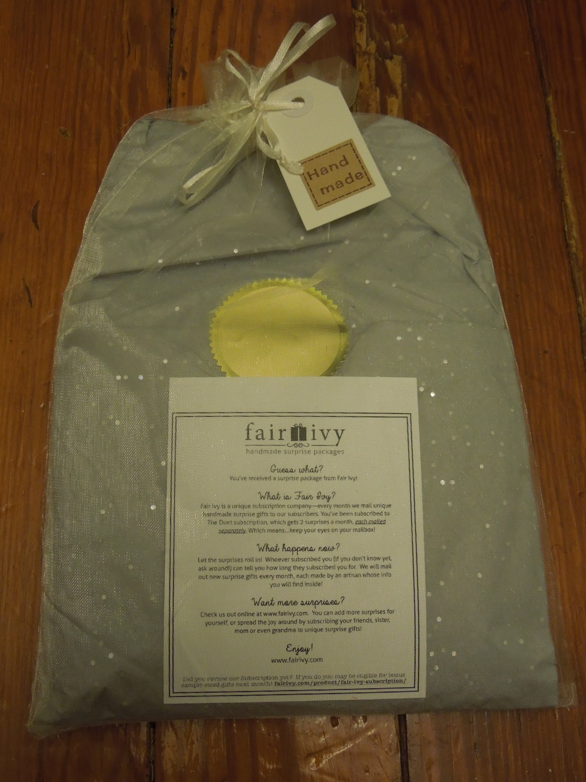 Fair Ivy Mystery Box: June 2014