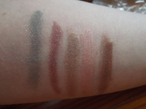 Shimmer Shadow Swatches