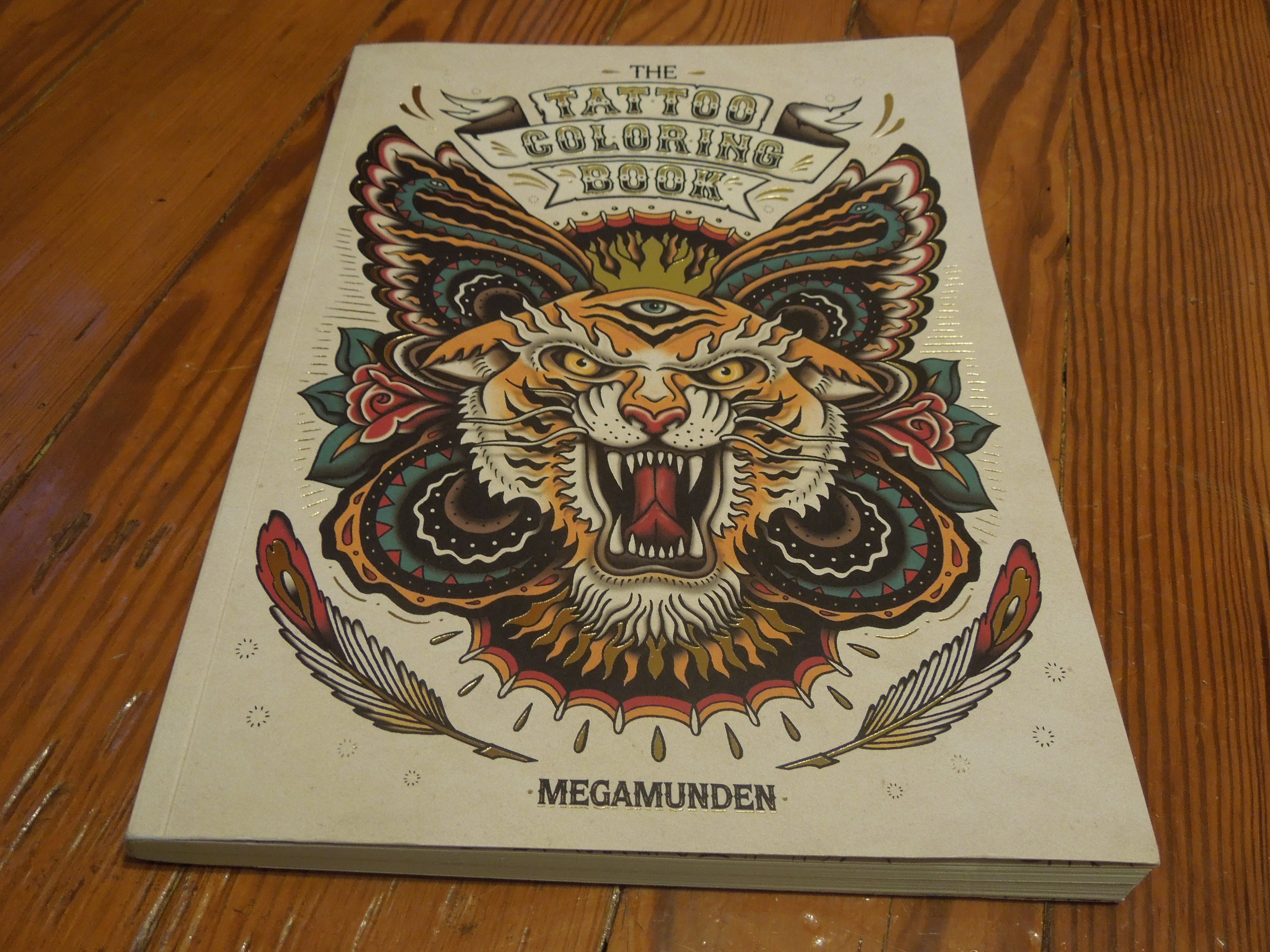 The tattoo coloring book megamunden - Book Tattoo Colouring Book By Megamunden