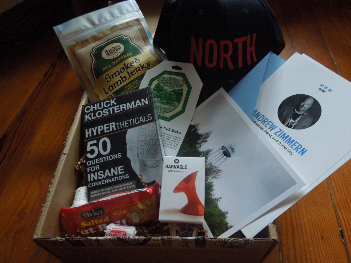 Andrew Zimmern Quarterly Box (#ZIM03): July 2014