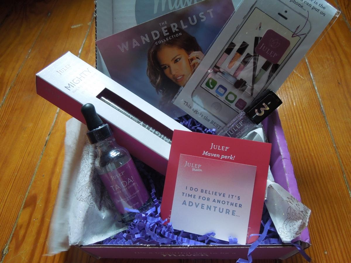 "Julep Maven:  August 2014 ""Mani-versary Box"" –The Wanderlust Collection & Julep Truth or Dare Vanish MysteryBox"