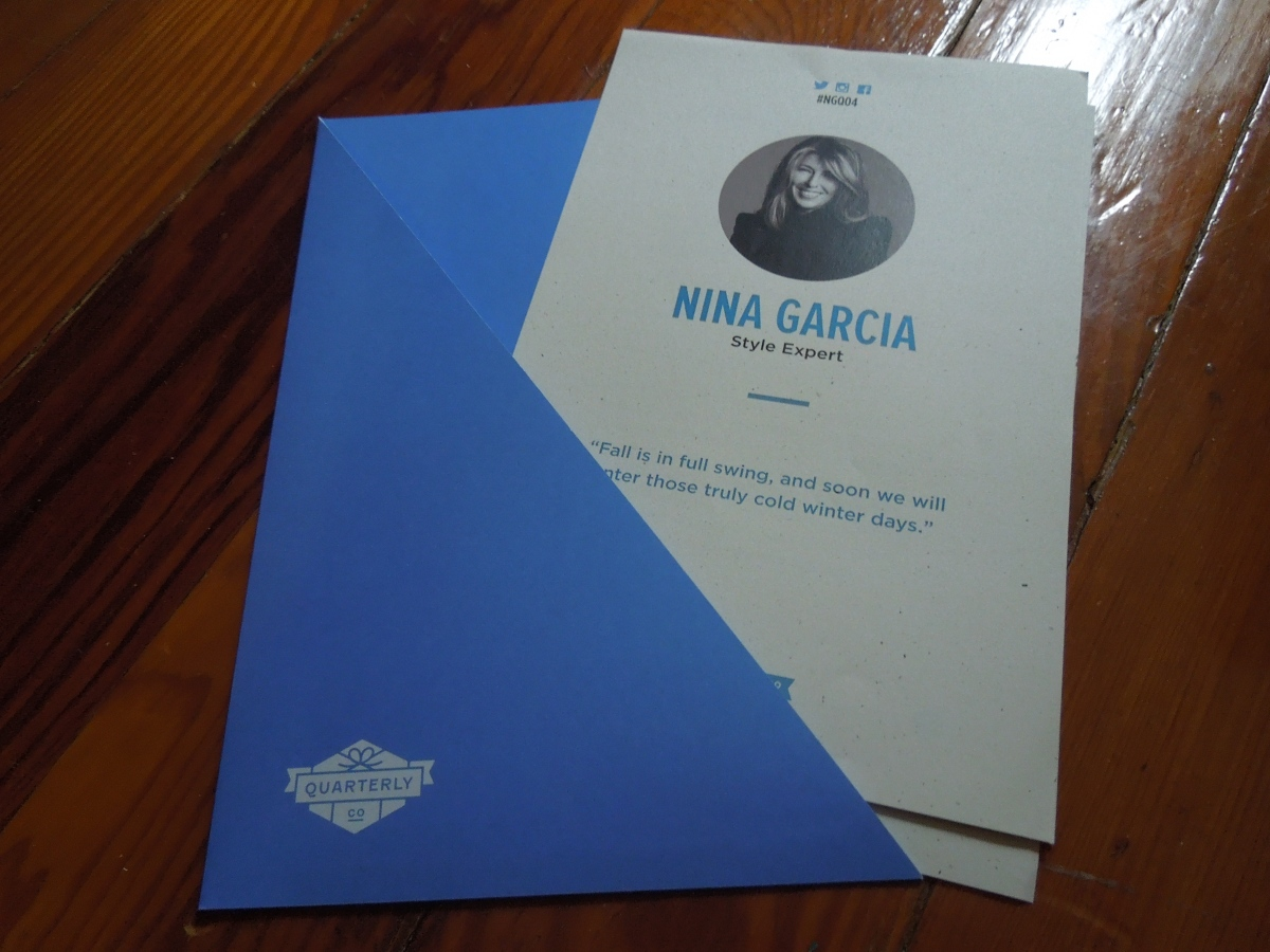 Nina Garcia Quarterly (#NGQ04): November2014