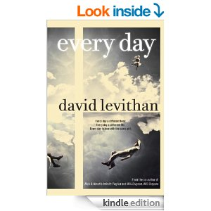 WRITER'S SHELF: THE POPSUGAR 2015 BOOK CHALLENGE! – Book #2 – Every Day by DavidLevithan