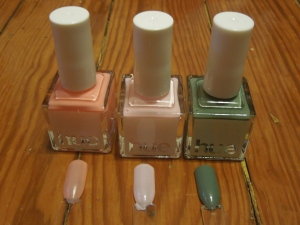 Polishes with Swatches