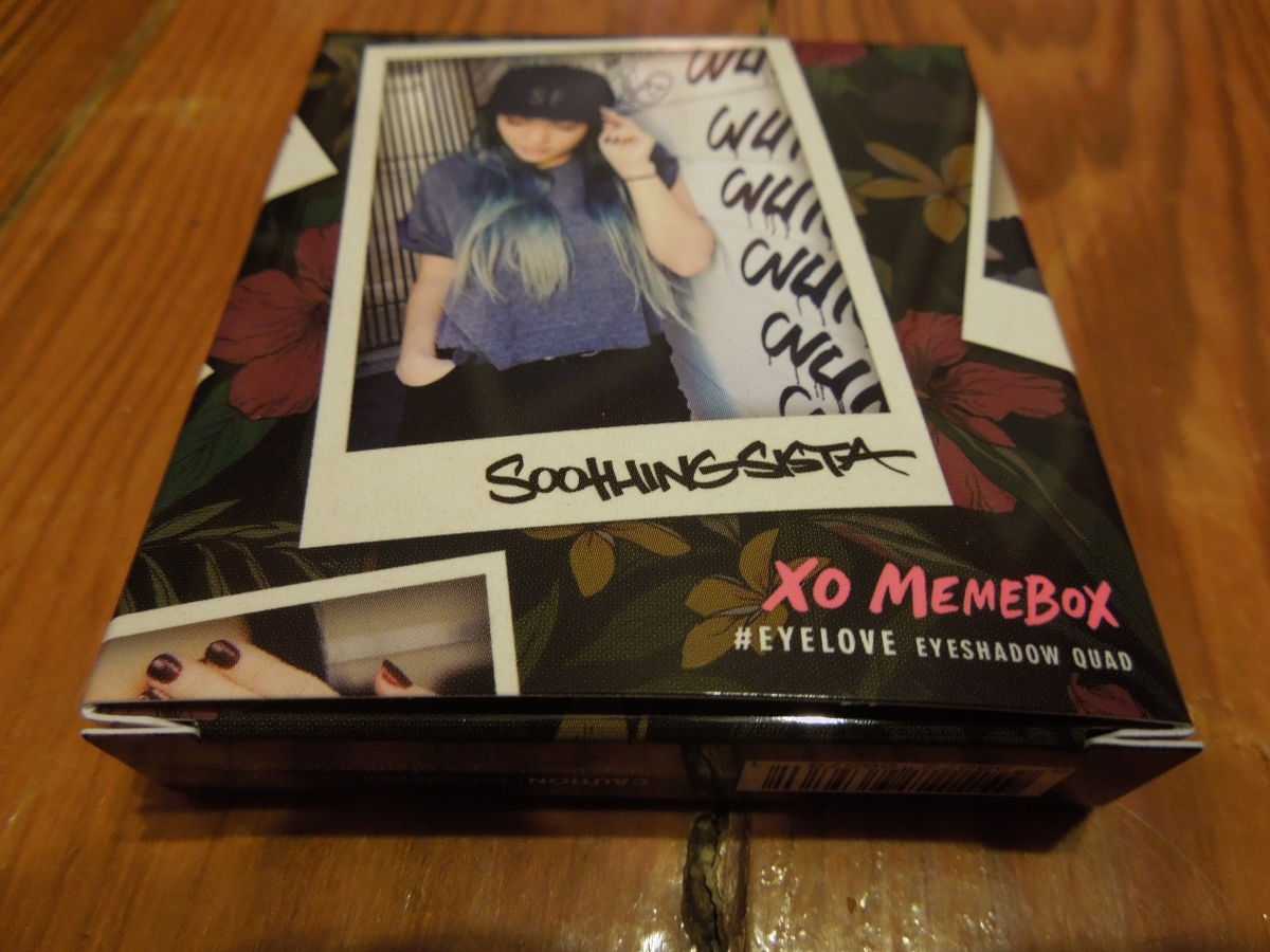March Product Review: Memebox SoothingSista Eyeshadow Quad & CouponCodes!