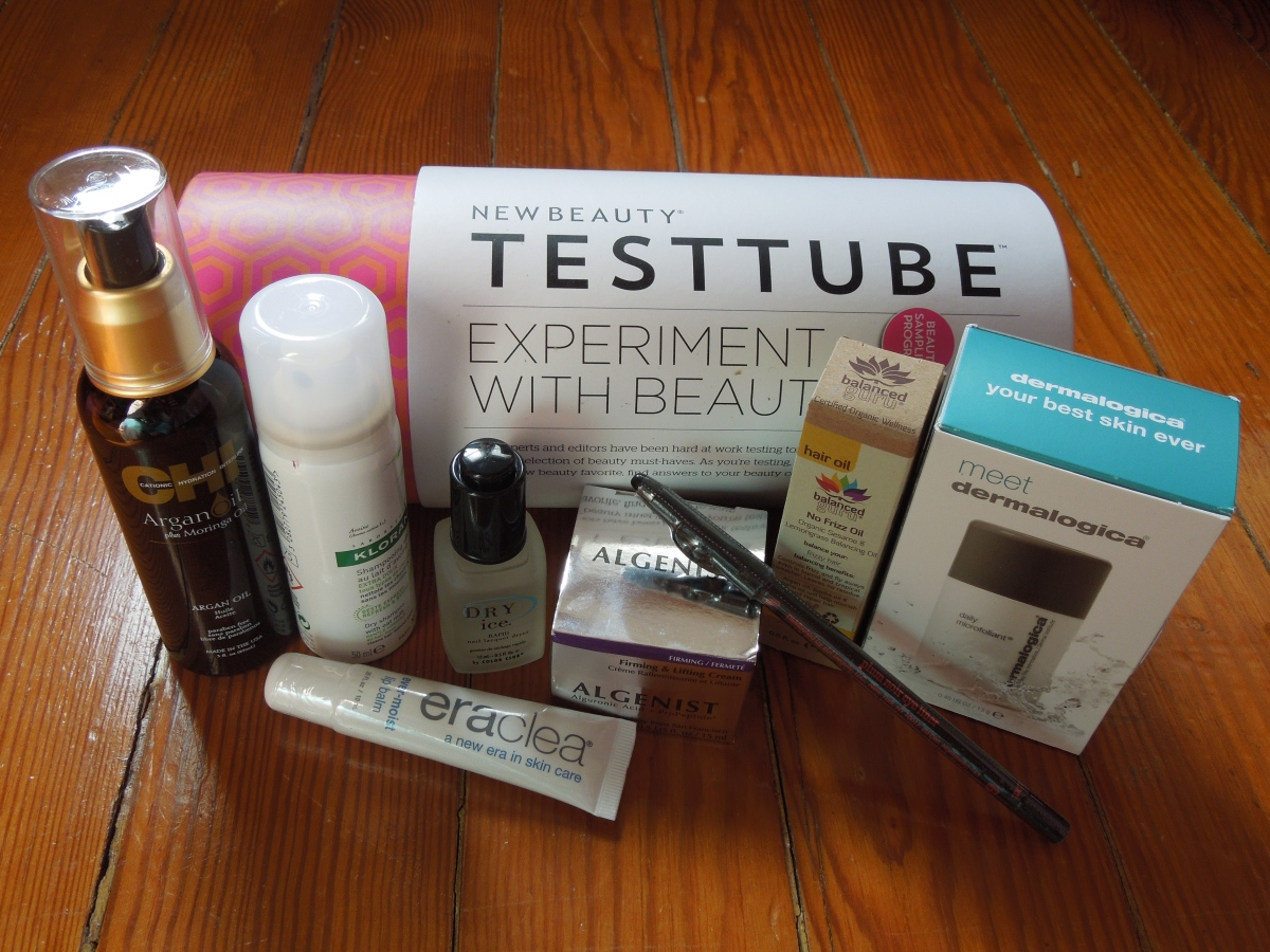 New Beauty Test Tube: January 2015 & 30% off!