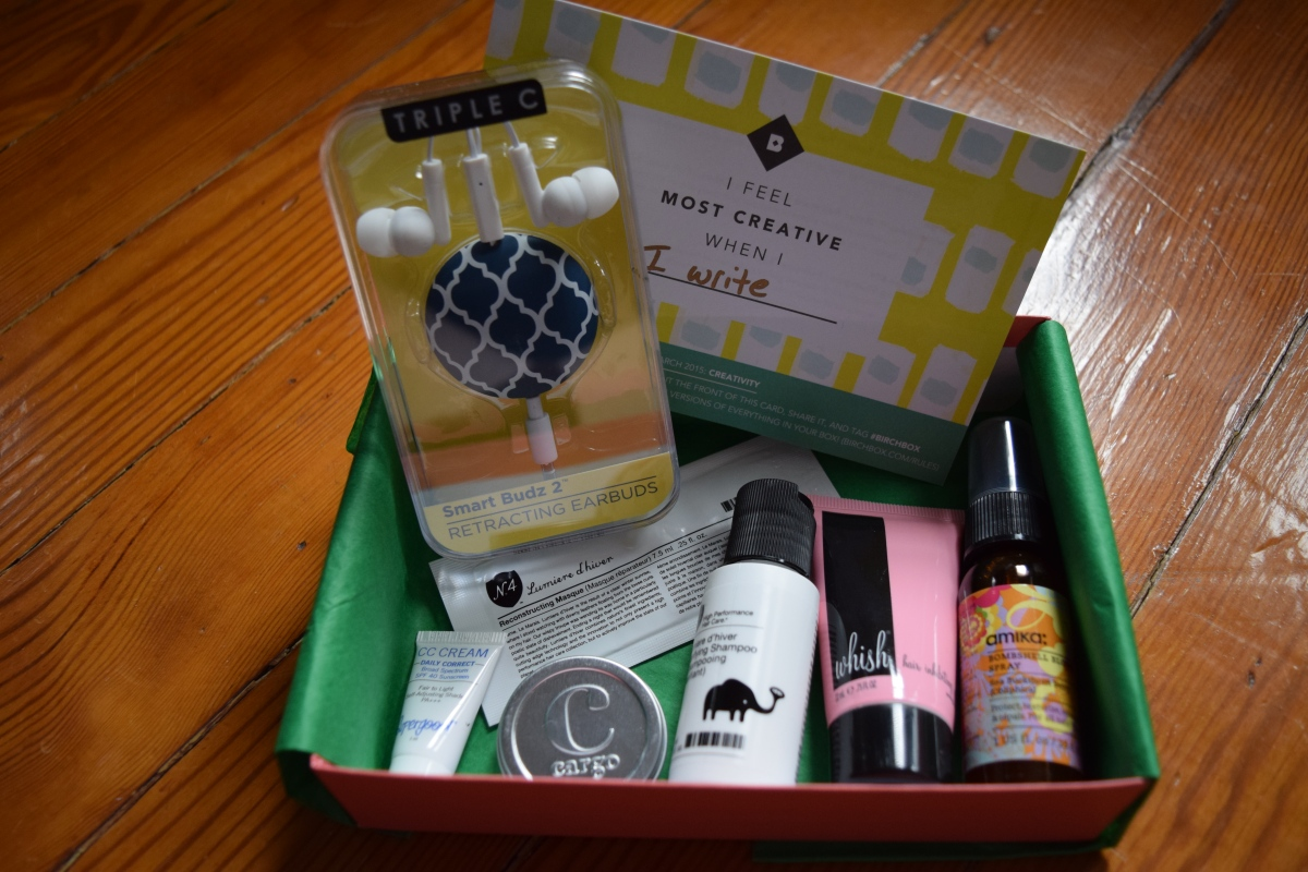 Birchbox: March 2015