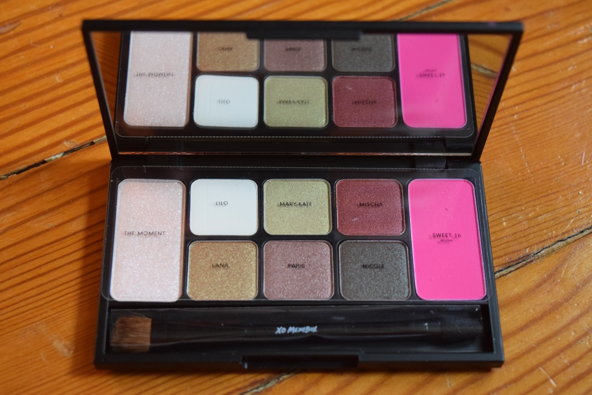 "April Product Review: Memebox NYLON #ItGirlPalette ""Sweet 16"" & Coupon Codes!"
