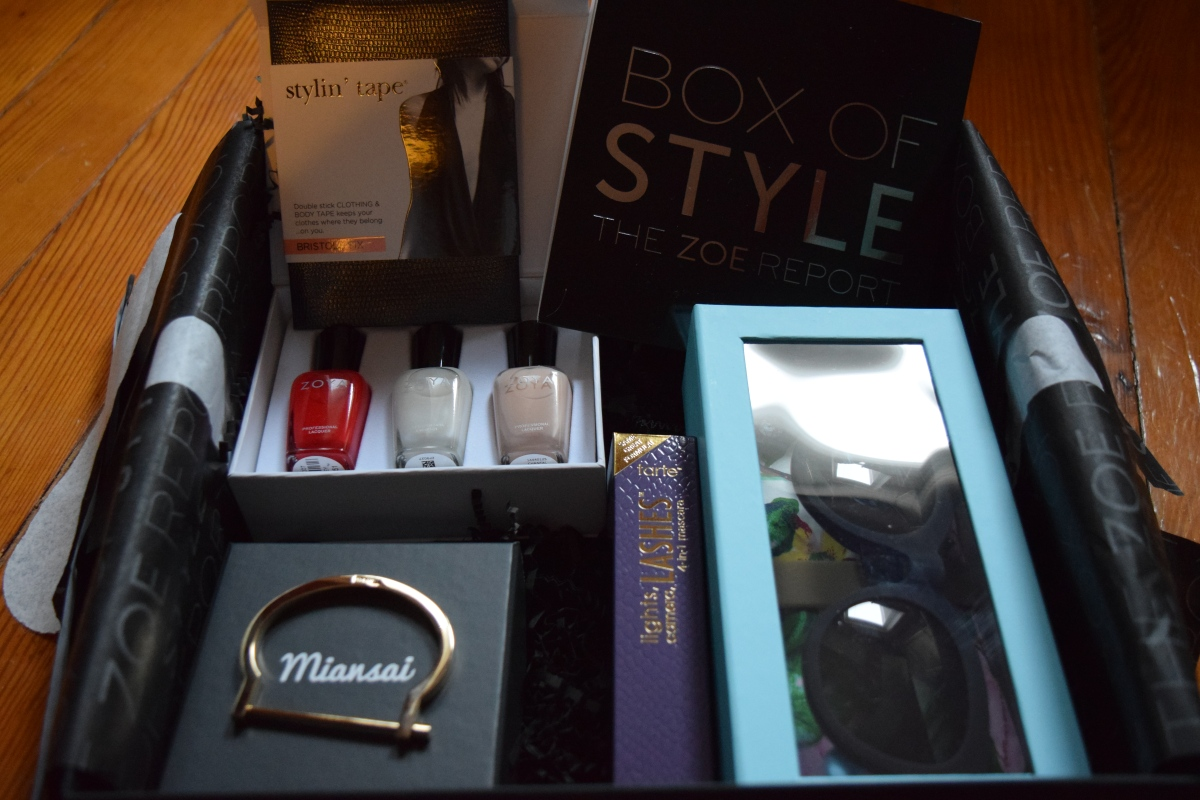 Rachel Zoe Box of Style: April2015