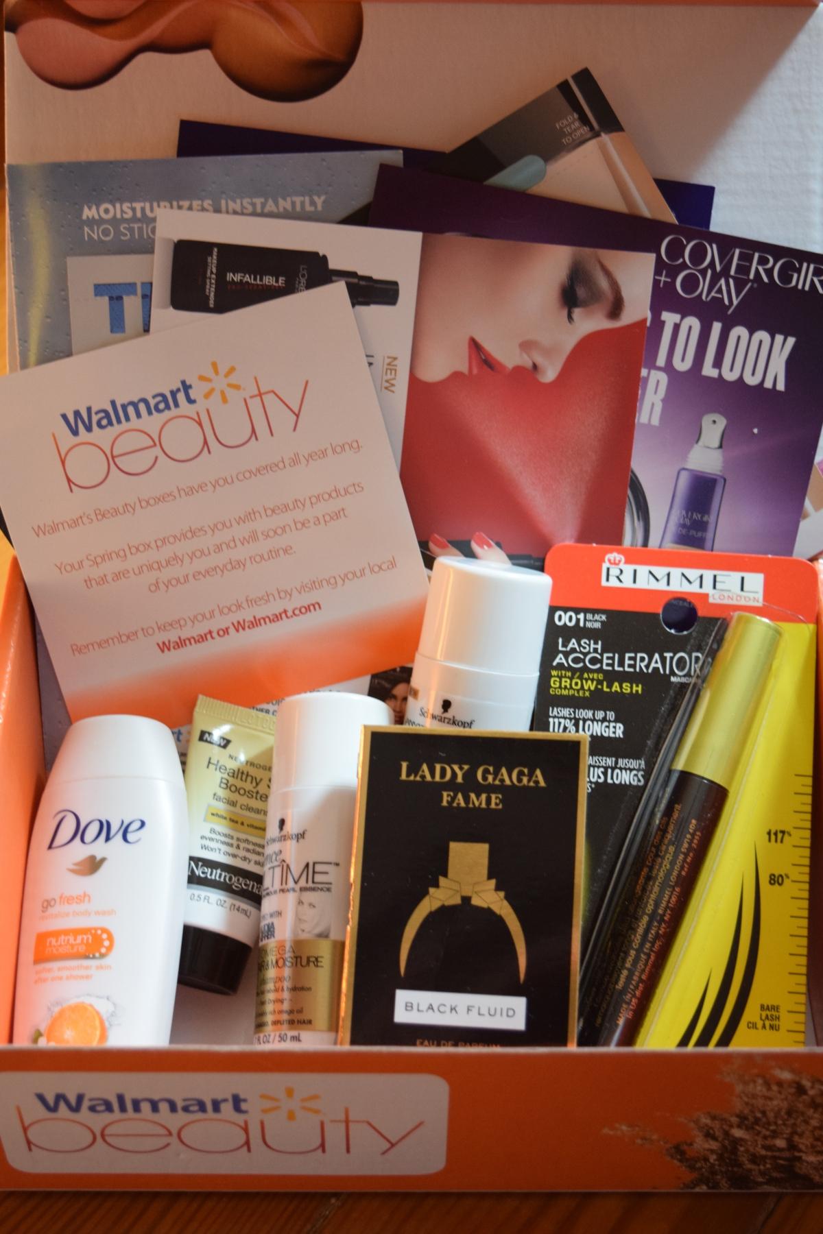 Walmart Beauty Box: Spring2015