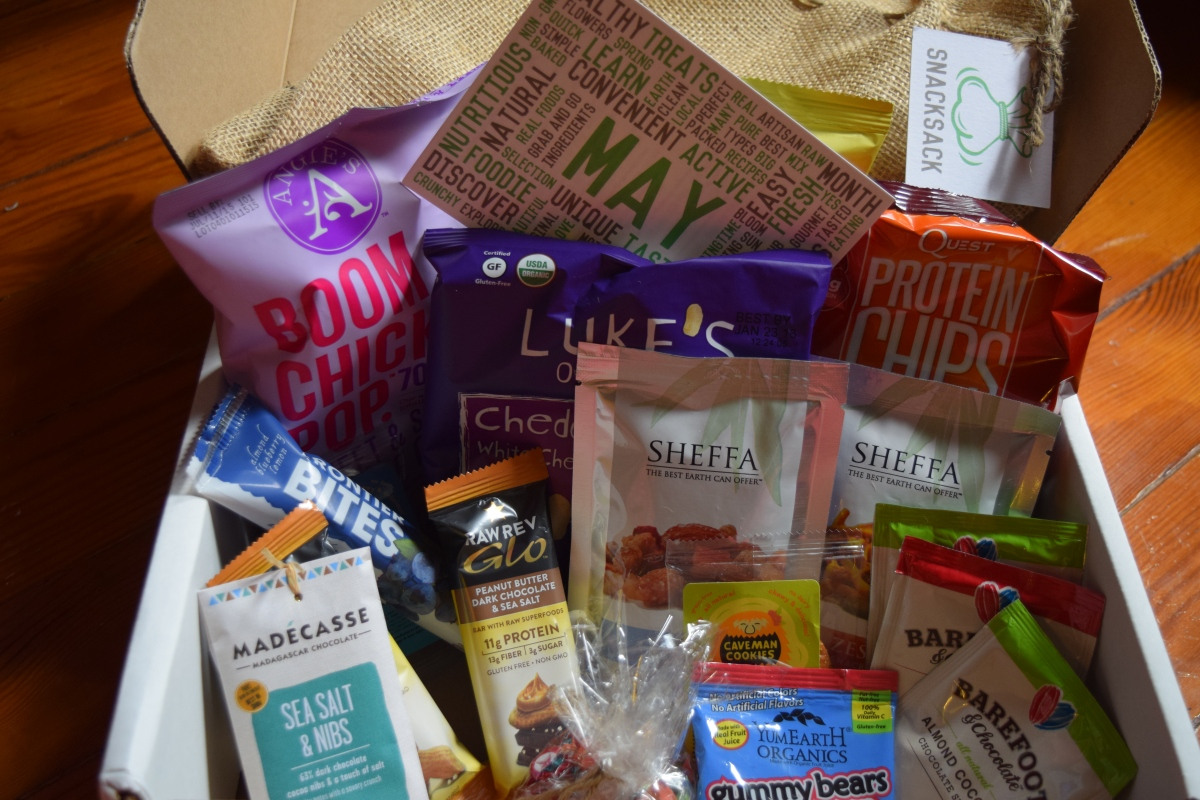SnackSack: May 2015 & Special Coupon Code!