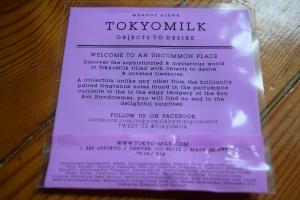Tokyo Milk 2
