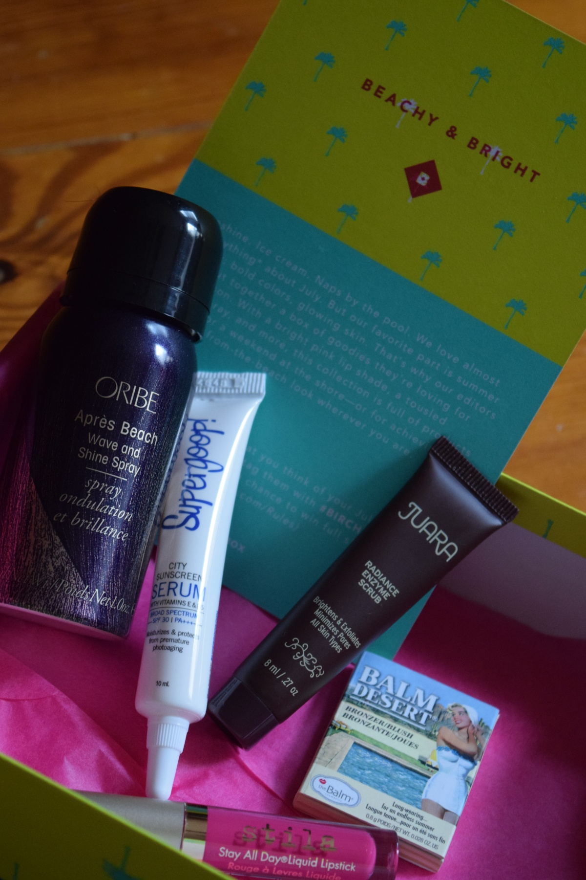 Birchbox: July 2015