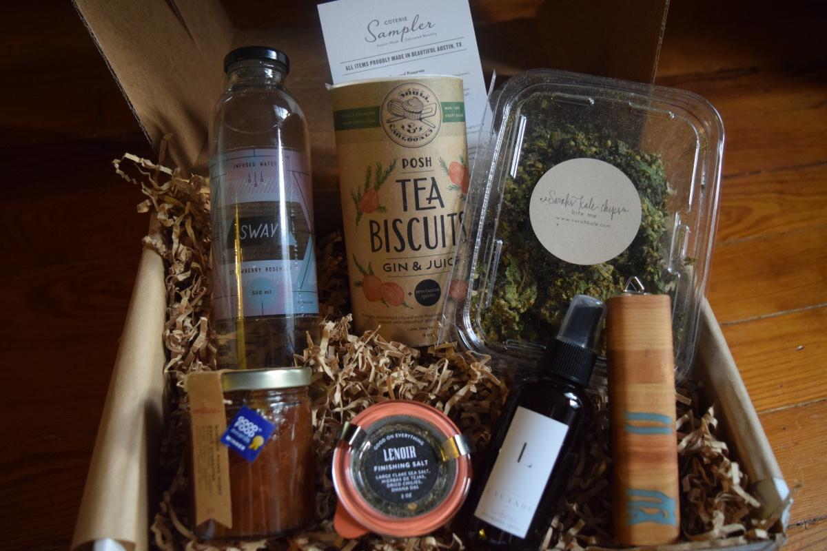 Coterie Sampler & Box Giveaway!: September2015