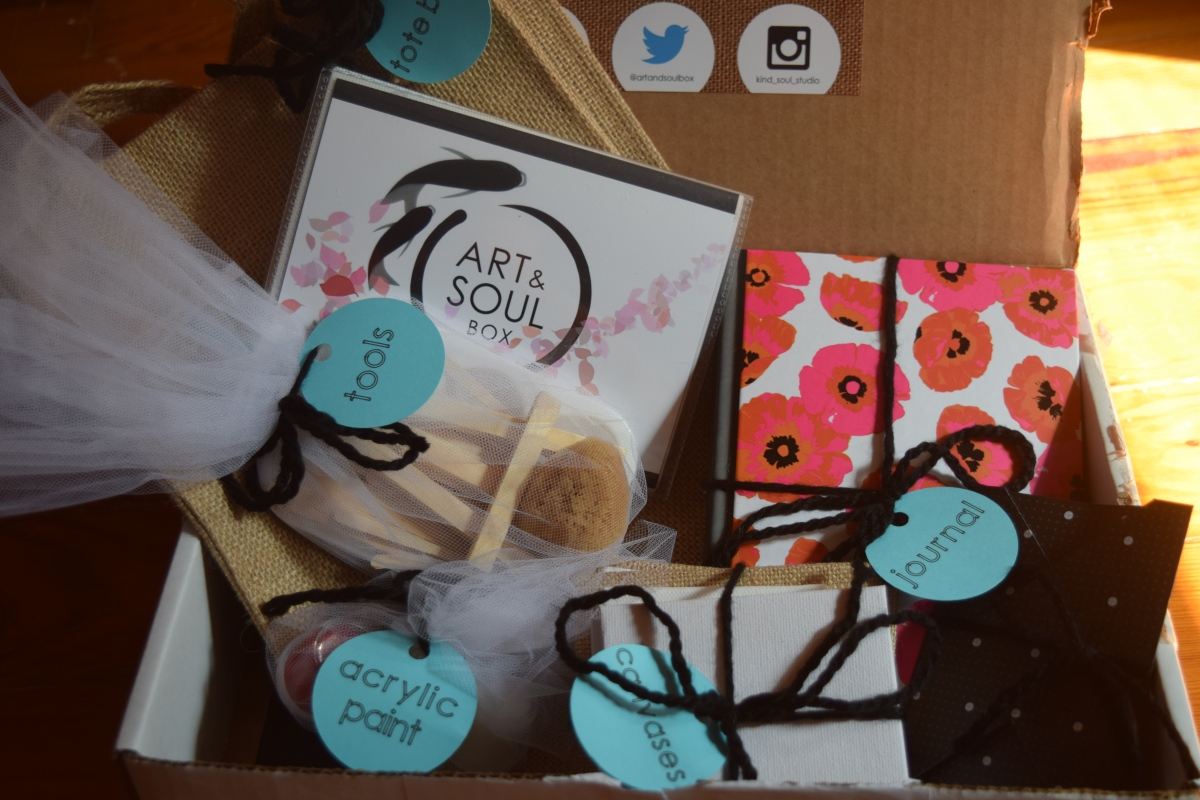 Art & Soul Box: August2015