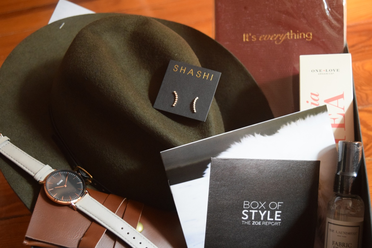 Rachel Zoe Box of Style: Fall 2015