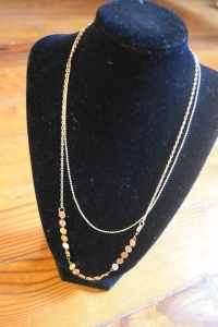 Coin Necklace Bust