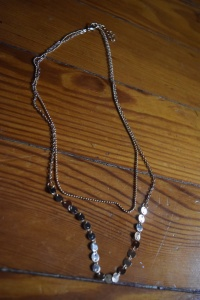 Coin Necklace Long