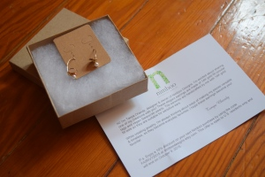 Earrings & Card 1