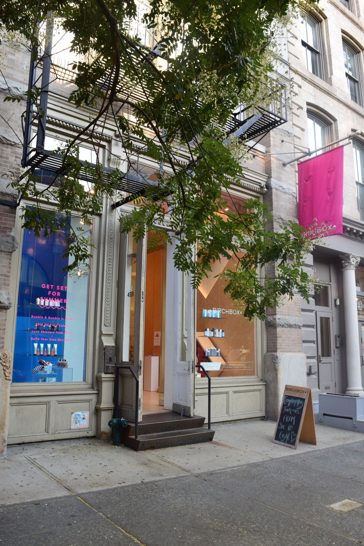 NYC Beauty & Fashion: The Birchbox Flagship Store