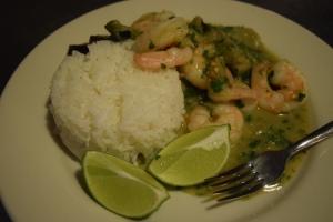 Shrimp Curry Dish