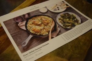 Chicken Recipe Card