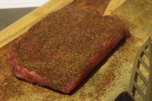Steak with Rub