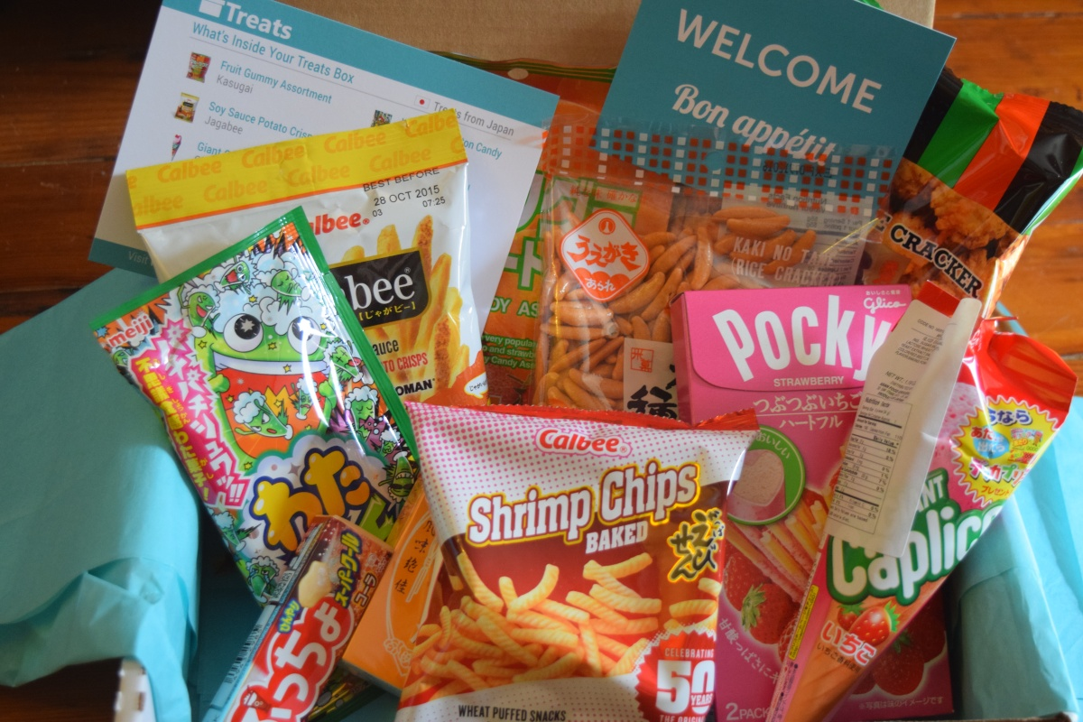 Treats Box October 2015 Review & 15% off CouponCode!