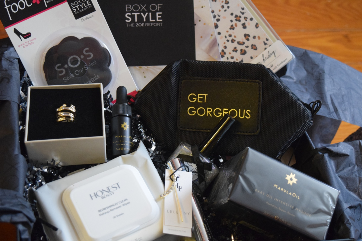 Rachel Zoe Box of Style: Winter 2015 & $10 Off
