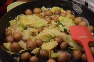 Salad in Pan