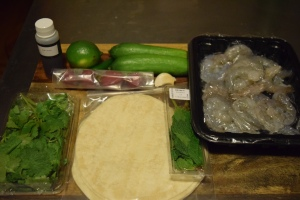 Shrimp Taco Ingredients