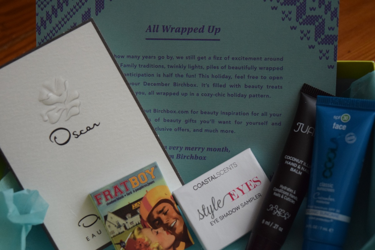 Birchbox: December 2015 & a new Limited Edition Box Spoiler!