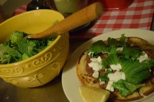 Flatbread & Salad