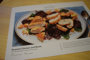 Roasted Chicken & Beets