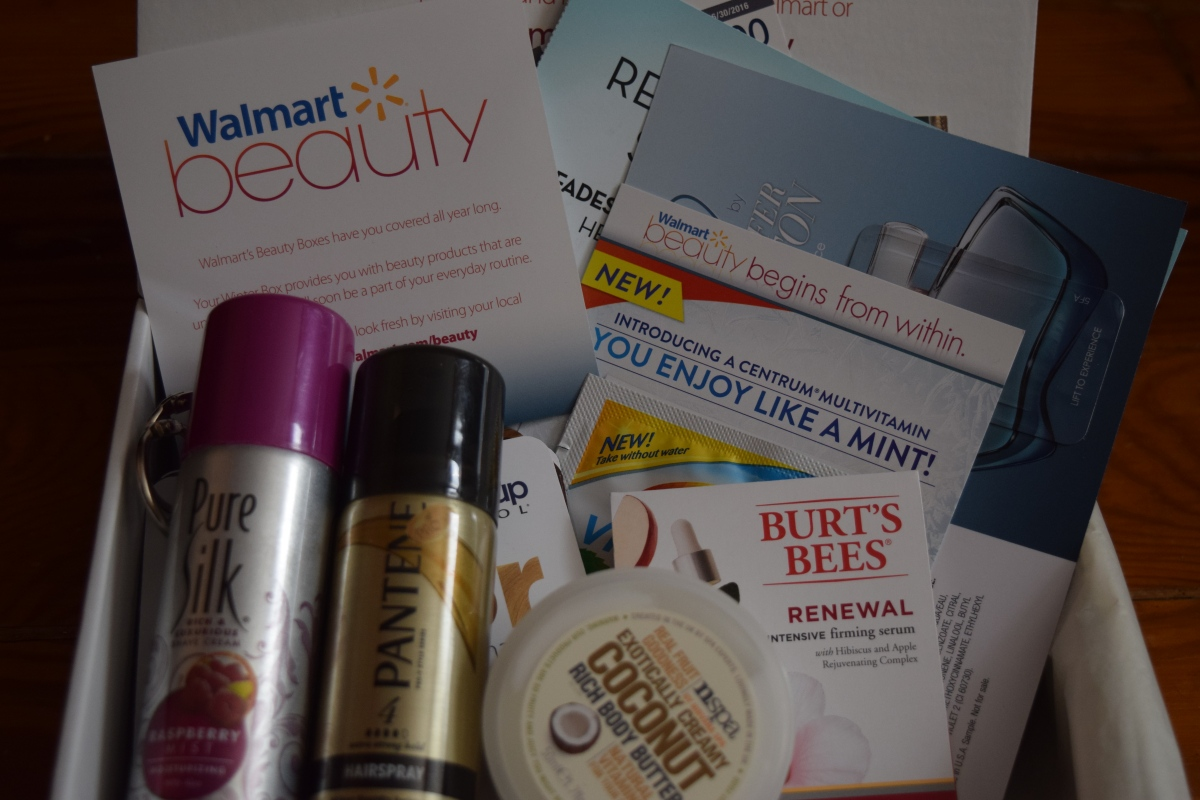 Walmart Beauty Box: Winter2015