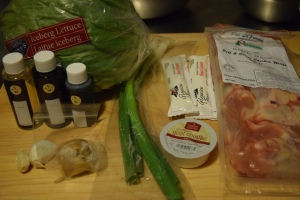 Chicken Wing Ingredients