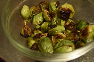 Cooked Brussels