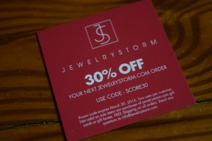 Jewelry Coupon