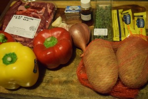 Flat Iron Steak Ingredients